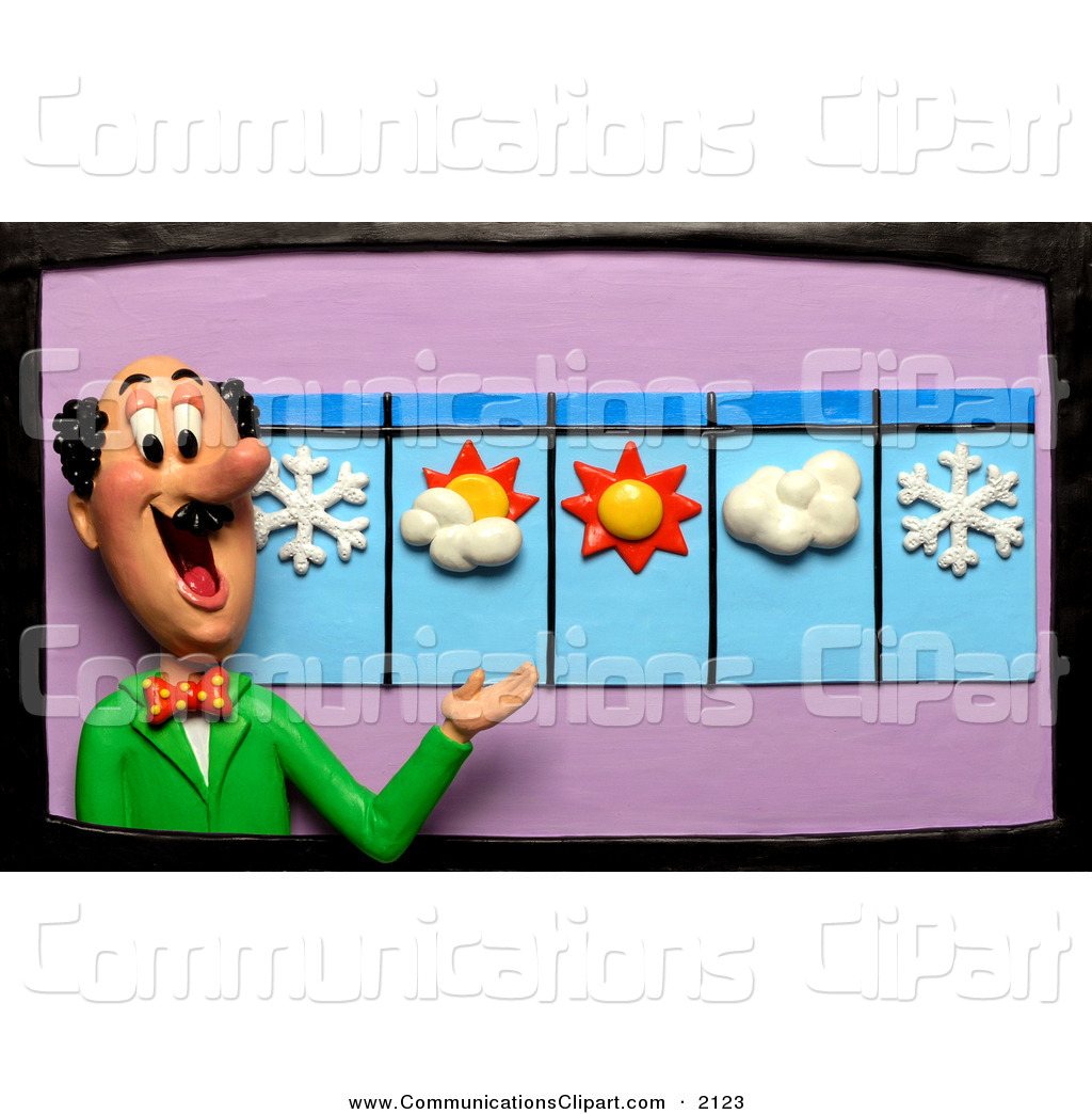 forecast 20clipart  Weatherman Clipart