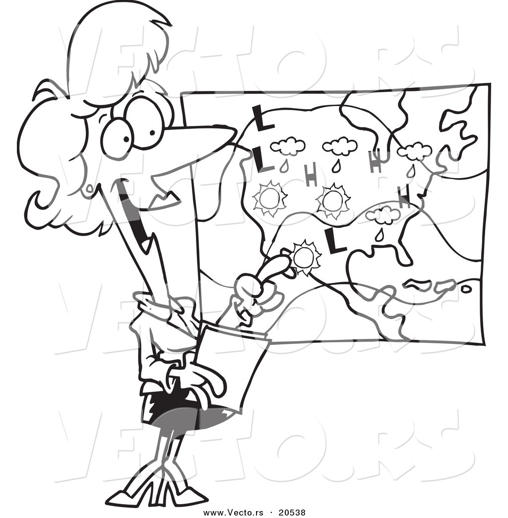weather man coloring pages - photo#12