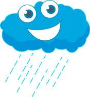 Rain cloud animation - photo#25