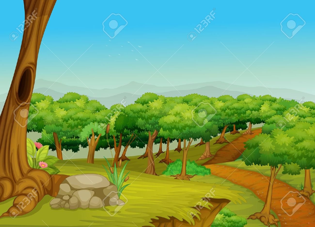 Clip Art Forest Clip Art jungle forest clip art clipart free download art