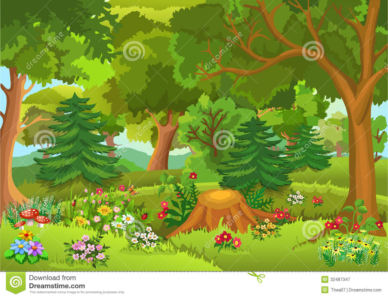 fairy tale forest clipart clipart panda free clipart images rh clipartpanda com Forest Service Logo Clip Art forest animal clipart free