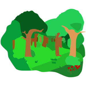 forest clipart forest clip art 9crrlrqmi png 300 300 clip art a rh pinterest com forest clipart backgrounds forest clipart background