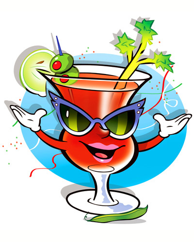 bloody mary drink clipart - photo #28