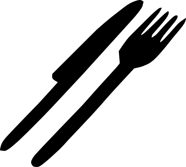 fork%20clipart%20black%20and%20white