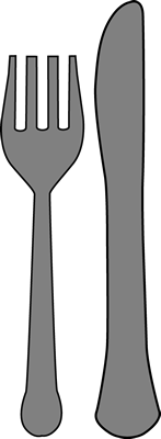 Fork and Knife Clip Art Image | Clipart Panda - Free ...