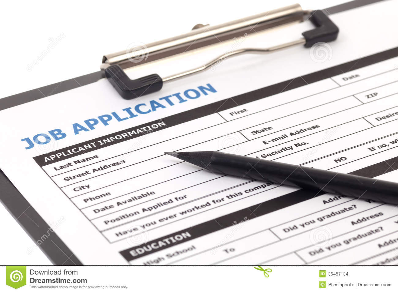 job application form isolated | clipart panda - free clipart images