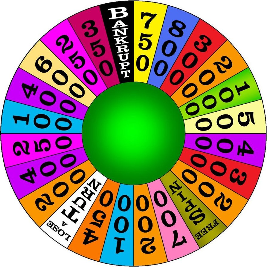 wheel of fortune clipart clipart panda free clipart images