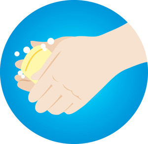 Washing Hands Soap Clipart - Free Clip Art Images