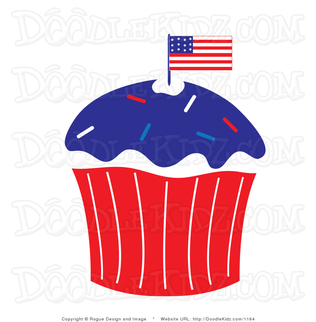 Free Black And White 4th Of July Clipart