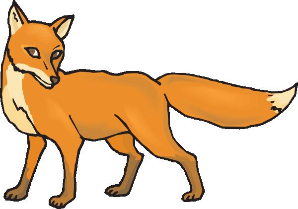 shy fox clip art vector clipart panda free clipart images rh clipartpanda com free fox clipart images