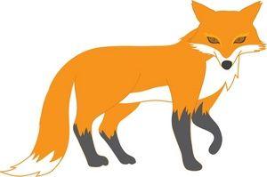 fox clip art clipart panda free clipart images rh clipartpanda com