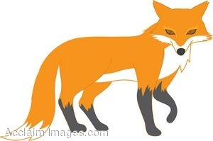 Clip Art Clipart Fox fox clip art and pictures clipart panda free images art