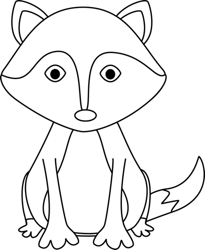 Aninimal Book: Fox Clipart Black And White | Clipart Panda - Free Clipart ...
