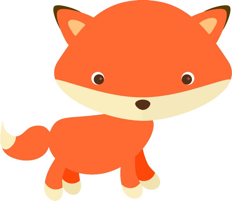 free cute fox clip art clipart panda free clipart images rh clipartpanda com cute clip art of animals cute clip art images