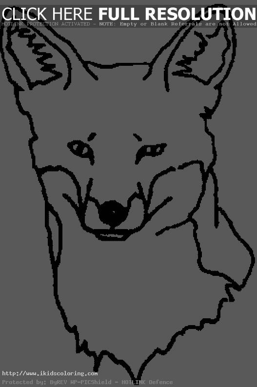 Coloring Page For Kids With Charming Fox. Cartoon Cute Fox Drawing ... | 794x527