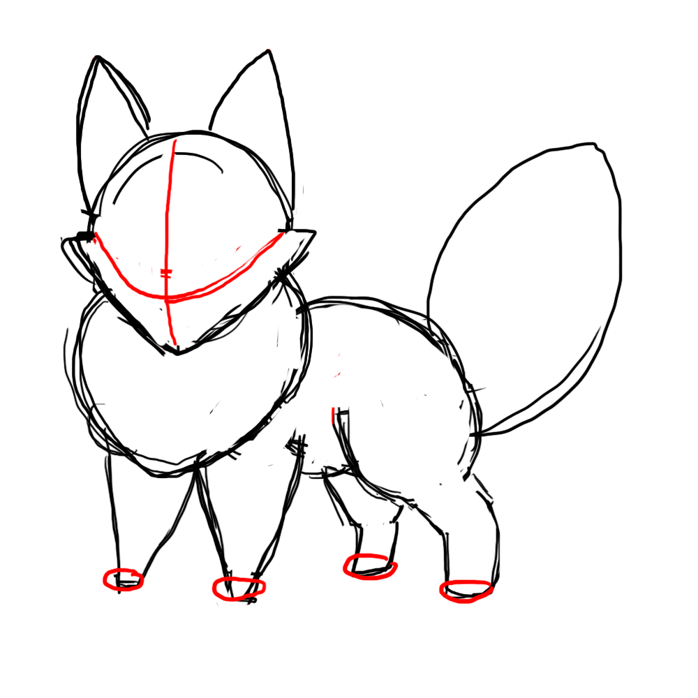How To Draw A Chibi Fox Clipart Panda Free Clipart Images