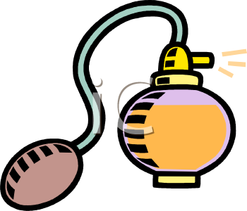 """perfume atomizer"" clipart 
