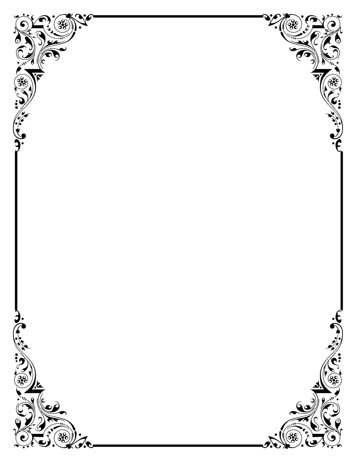 frames clip art borders