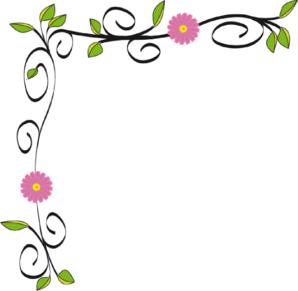 Wedding Flowers: free clip art borders flowers wedding