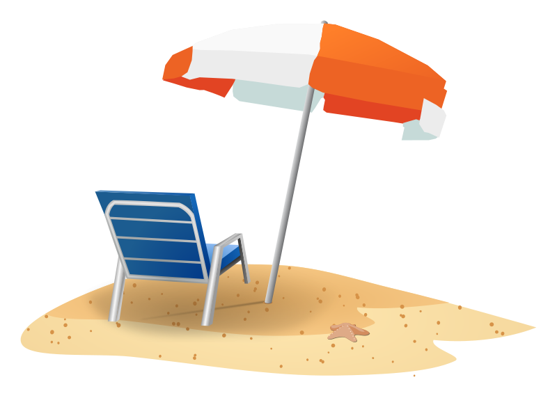 clipart beach scenes - photo #43