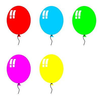 Free Birthday Balloon Clip Art Clipart Panda Free