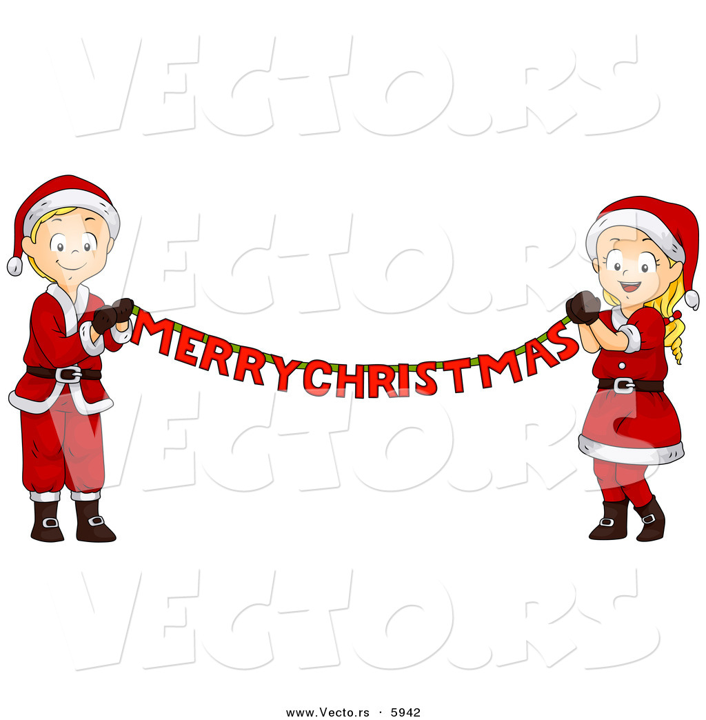free clipart merry christmas banner - photo #4