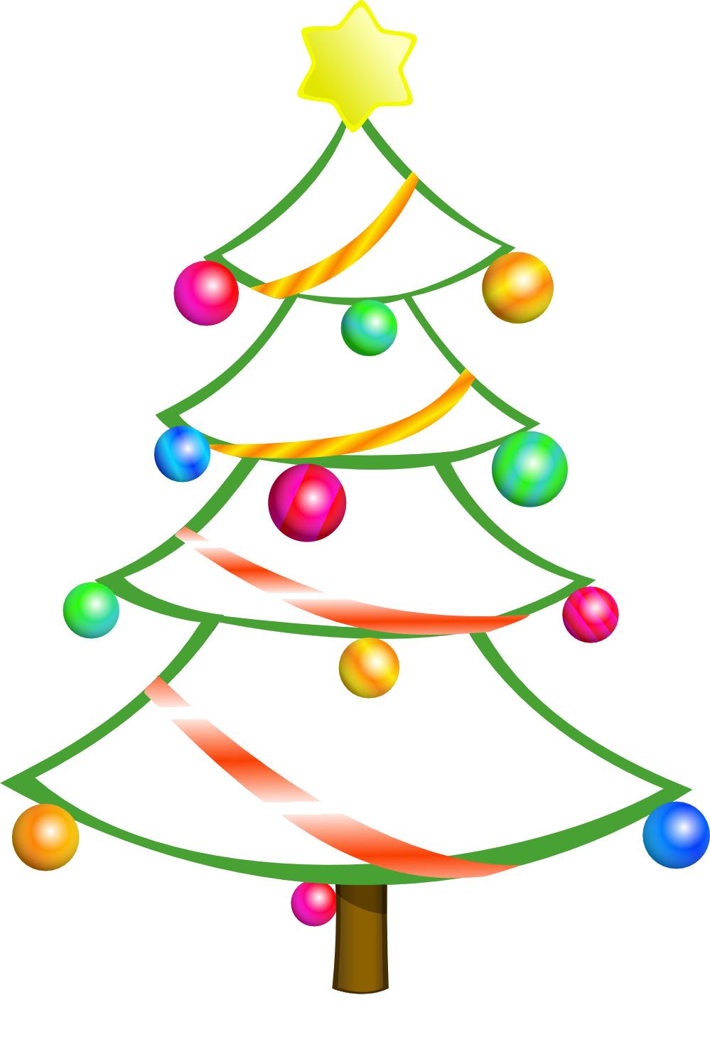 Clip Art Free Christmas Tree Clip Art free christmas tree clip art borders clipart panda free