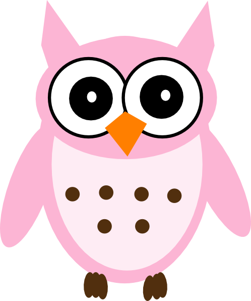 pink owl clip art vector clipart panda free clipart images rh clipartpanda com owls clip art pictures owl clip art black and white