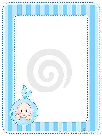 Baby Border Clip Art - Synkee