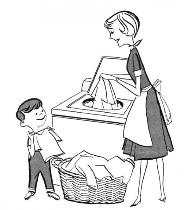 Love Each Other Coloring Page: Free Clip Art Children Chores