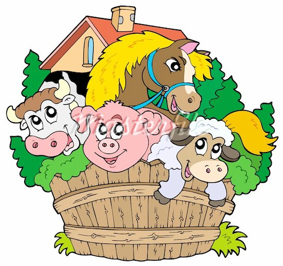 clipart pictures farm animals - photo #20