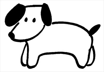 free dog clipart black and white clipart panda free clipart images rh clipartpanda com Dog Silhouette Clip Art Dog Silhouette Clip Art