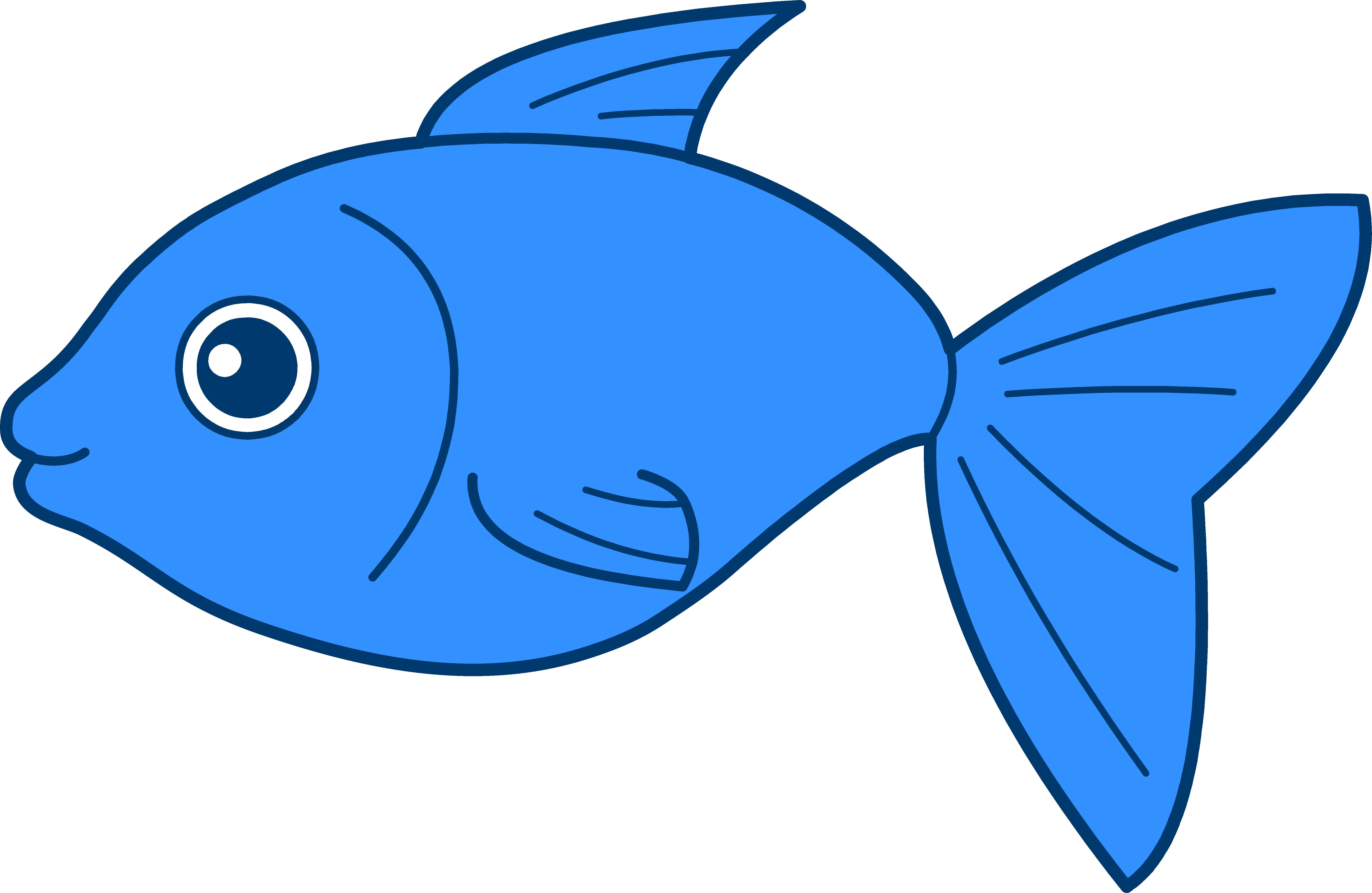 blue fish clip art clipart panda free clipart images