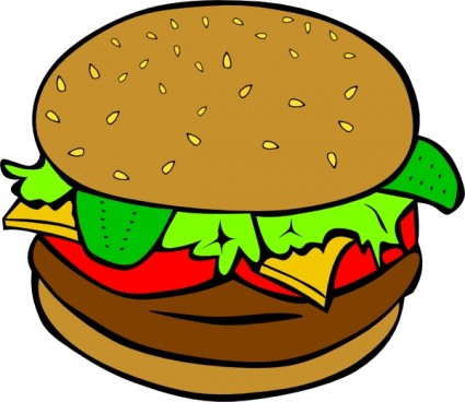 Animated food. Free clip art clipart