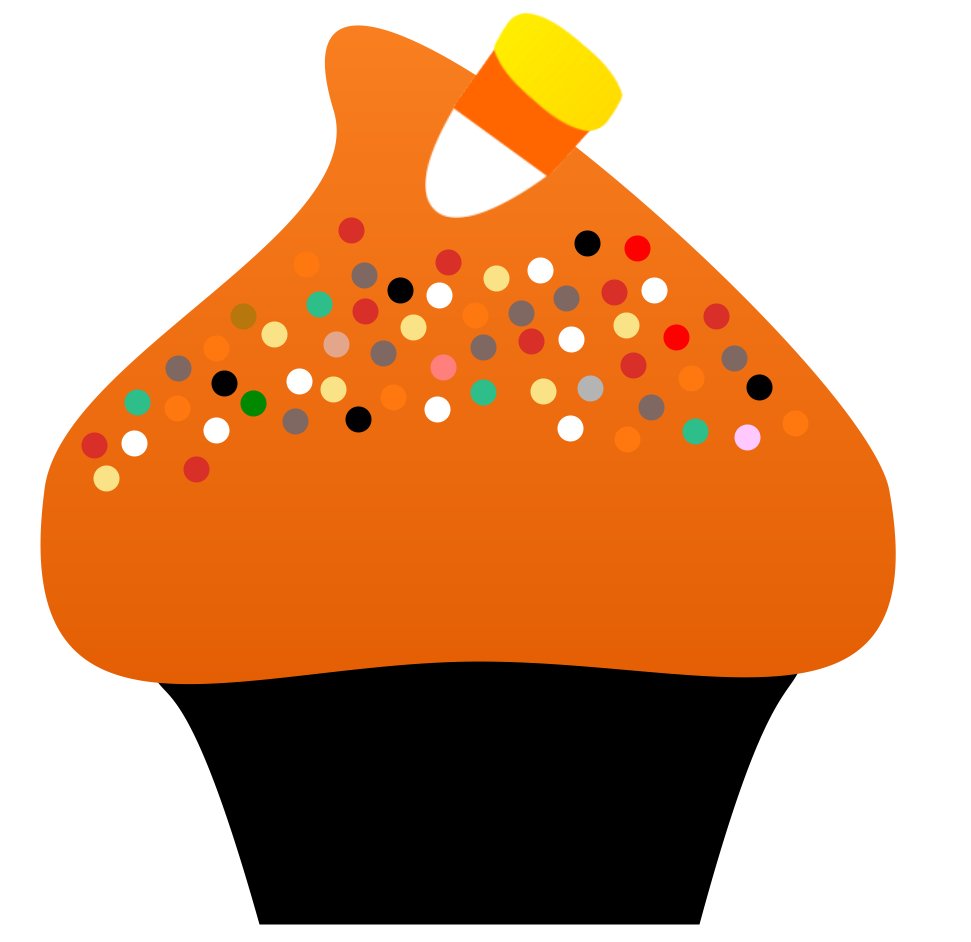 Halloween Cupcake Clipart | Clipart Panda - Free Clipart Images