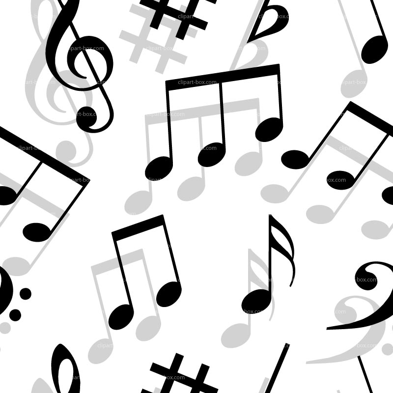 Line Art Music Notes : Musical notes line art free clipart panda