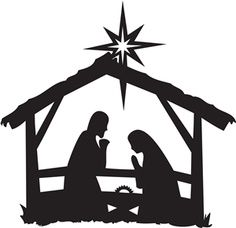 Hilaire image within nativity clipart free printable