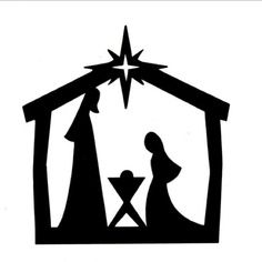 free nativity clipart silhouette clipart panda free clipart images rh clipartpanda com free nativity clipart black and white free nativity clipart to download