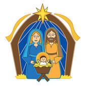 Christmas Clip Art Nativity Scene Free