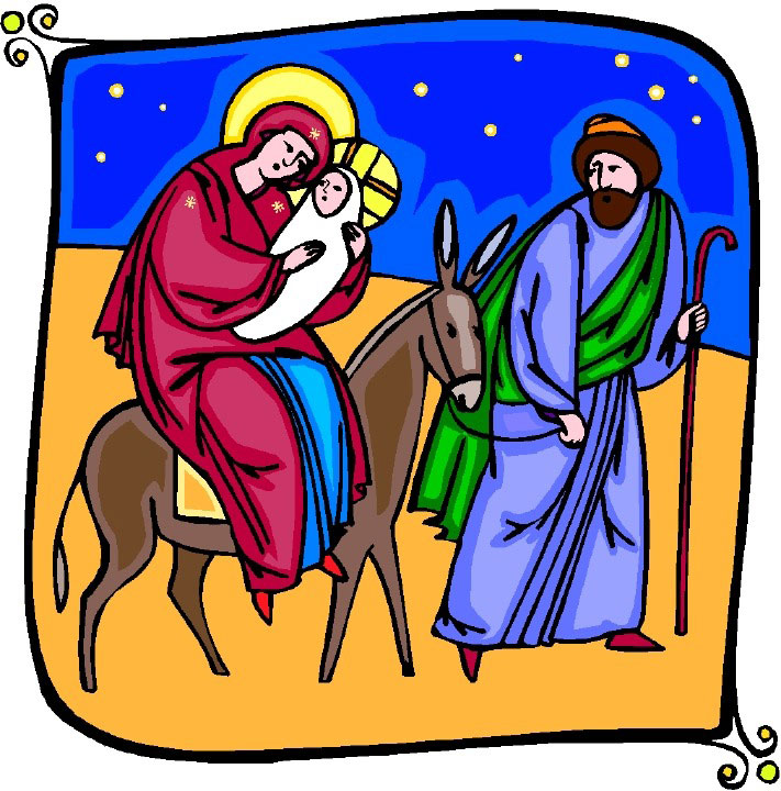 Free Nativity Clipart Black And White | Clipart Panda - Free Clipart ...