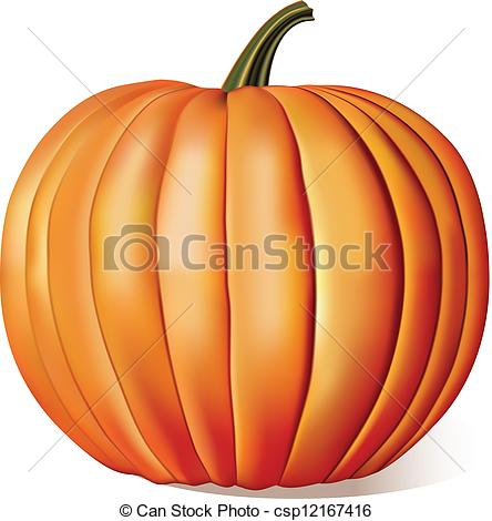 Free Vintage Pumpkin Clip Art Drawing