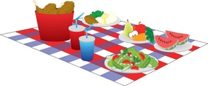 Clipart illustration of picnic | Clipart Panda - Free ...