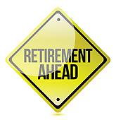 free retirement clipart
