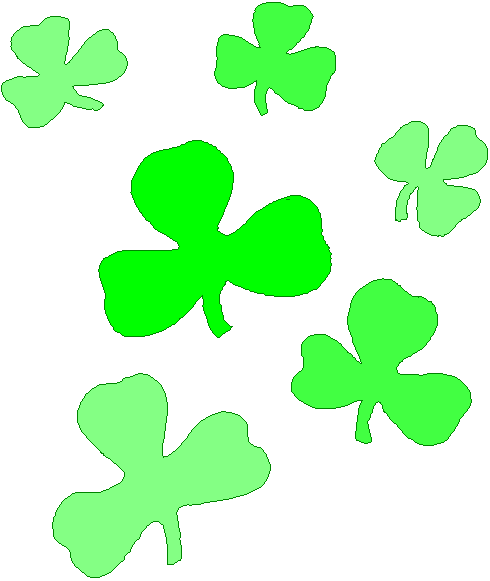Free Shamrock Clip Art Black And White | Clipart Panda - Free Clipart ...