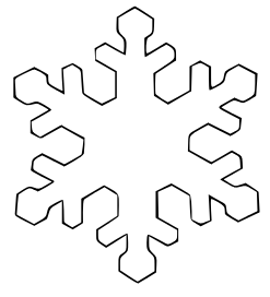 Clip Art Snowflake Clipart snowflake clipart black and white panda free clipart