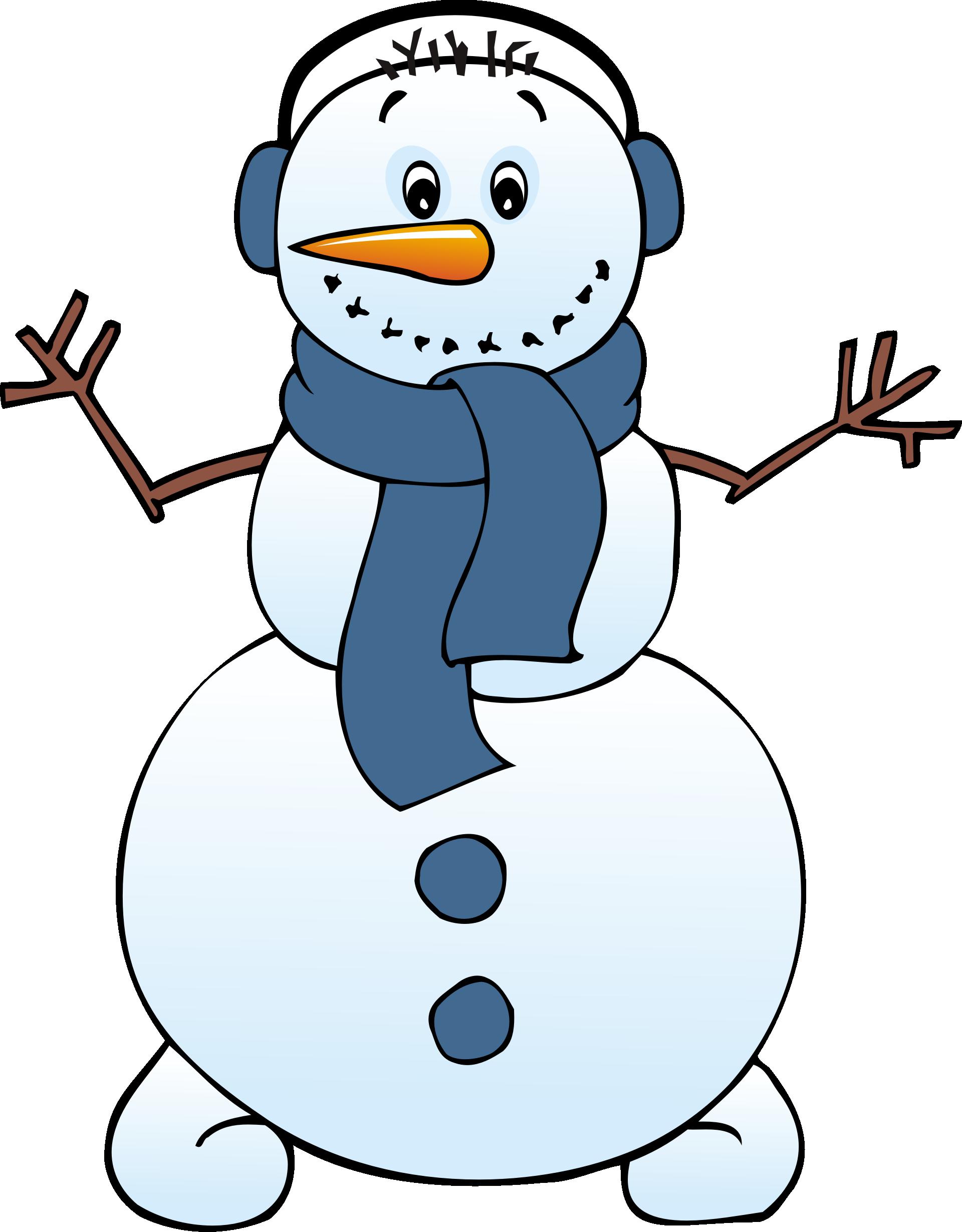 clipart snowman free - photo #6