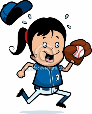 free softball clipart