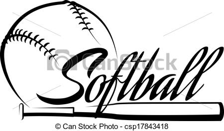 Softball Ball Clipart | Clipart Panda - Free Clipart Images