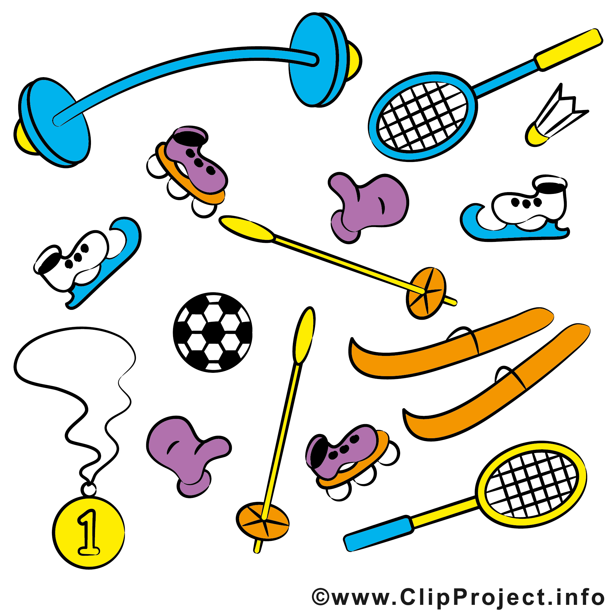 free sports graphics clipart - photo #14