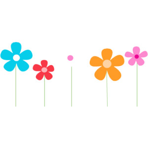 Clip Art Spring Flower Clip Art spring flowers border clipart panda free images clipart